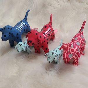 PINK Victoria's Secret Doggie Plushy Bundle